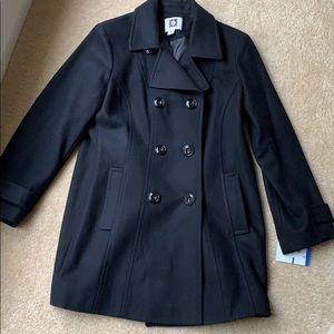Anne Klein long wool coat